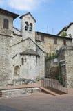St. Stefano e Valentino Church. Perugia. Umbria. Royalty Free Stock Photos