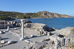 St. Stefanos basilica at Kos, Greece Stock Photo