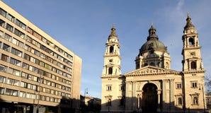 St Stephan Basilica - Boedapest Royalty-vrije Stock Afbeeldingen