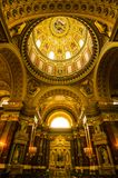St. Stephan in Budapest,Hungary royalty free stock photos