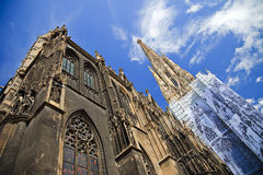 St. Stephan cathedral. In Vienna, Austria Royalty Free Stock Image