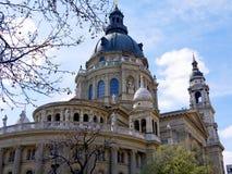 St Stephan Cathedral en Budapest Imagen de archivo libre de regalías