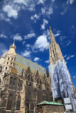 St. Stephan cathedral in Vienna. Austria Royalty Free Stock Images