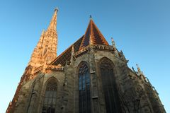 St. Stephan cathedral in Vienna. Stock Photography