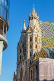 St. Stephan cathedral in Vienna Stock Photography