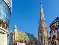 St. Stephan cathedral in Vienna Royalty Free Stock Photos