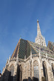 St. Stephan cathedral in Vienna against the sky. Austria Royalty Free Stock Image