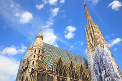 St. Stephan cathedral in Vienna Royalty Free Stock Photography