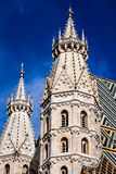 St. Stephan cathedral in Vienna, Austria Royalty Free Stock Photo