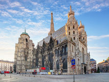 St. Stephan cathedral in Vienna, Austria.  Stock Images