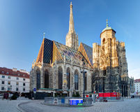 St. Stephan cathedral in Vienna, Austria.  Royalty Free Stock Image