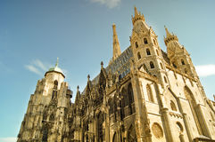 St.Stephan Cathedral. Vienna Austria Royalty Free Stock Photography
