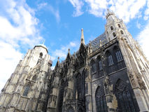 St. Stephan cathedral in Vienna Austria. Landmark architecture Royalty Free Stock Images