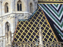 St. Stephan cathedral in Vienna Austria. Landmark architecture Stock Photos