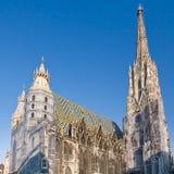 St Stephan Cathedral, Wenen, Oostenrijk Royalty-vrije Stock Fotografie