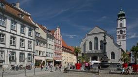 St Stephan Church i Lindau royaltyfria bilder