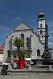 St Stephan Church in Lindau Royalty Free Stock Image