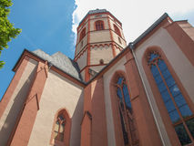 St Stephan church Mainz. St Stephan church in Mainz in Germany Royalty Free Stock Photos