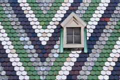 St Stephan dach, Wiedeń, Austria Zdjęcia Stock