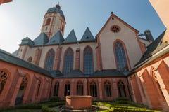 St Stephan de la iglesia católica en Maguncia, Alemania Foto de archivo