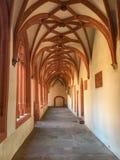 St Stephan del claustro en Maguncia, Alemania Imagen de archivo libre de regalías