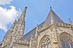 St Stephan katedra w Wiedeń obraz stock
