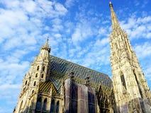 St Stephan kathedraal in Wenen royalty-vrije stock afbeelding