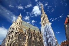St. Stephan kathedraal in Wenen, Oostenrijk Stock Foto