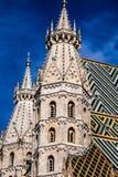 St Stephan kathedraal in Wenen, Oostenrijk royalty-vrije stock afbeelding