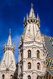 St Stephan kathedraal in Wenen, Oostenrijk royalty-vrije stock foto