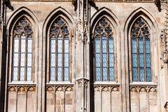 St Stephan kathedraal in Wenen, Oostenrijk stock afbeeldingen