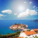 St. Stephan, Montenegro Stockfotografie