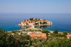 St. Stephan, Montenegro Arkivfoton