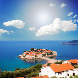 St. Stephan, Montenegro Stock Photography