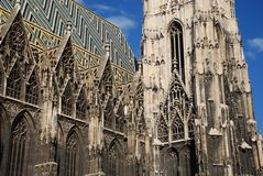 St. Stephan's cathedral. St. Stephan's cathedral, Vienna, Austria Royalty Free Stock Image