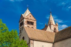 St. Stephan's Cathedral of Breisach Royalty Free Stock Photo