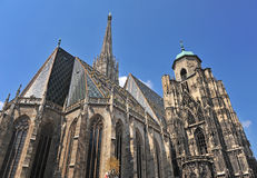 St Stephan's cathedral Royalty Free Stock Photography