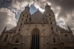 St Stephan& x27; catedral de s em Viena Imagem de Stock Royalty Free