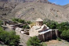 St. Stephanos Church in Iran near Jolfa. Old and beauty Stock Photos