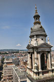 St Stephans大教堂在布达佩斯匈牙利 库存照片