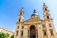 St Stephans大教堂在布达佩斯-匈牙利 免版税库存照片