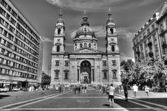 St Stephans大教堂在布达佩斯 免版税库存图片