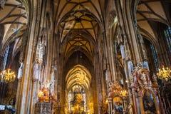 St Stephans大教堂,维也纳,奥地利 图库摄影
