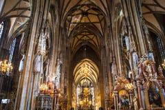 St Stephans大教堂,维也纳,奥地利 库存照片