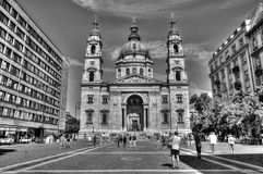 St Stephans basilica in Budapest Royalty Free Stock Image