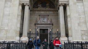 St Stephans Basilica stock video