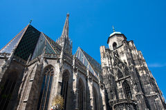 St. Stephans cathedral, Vienna. Royalty Free Stock Images