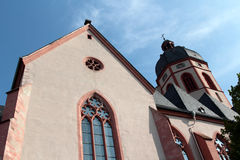 St.Stephans church in Mainz Stock Photography
