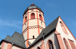 St.Stephans church in Mainz Royalty Free Stock Photography