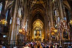 St Stephans kathedraal, Wenen, Oostenrijk stock fotografie